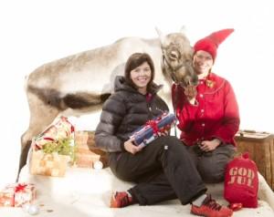 Jag, Rudolf och en av  arrangörerna, Beatrice Björch.