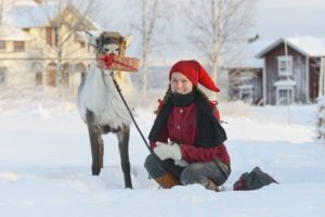 Renen Rudolf och matte Ulrica Anderasson