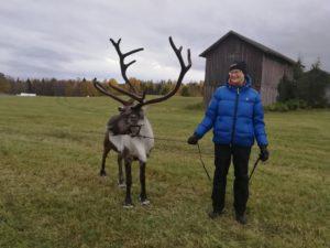 Rudolf och mamma