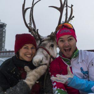 Ullis, Frost och Robin Bryntesson på Östersund Classic.