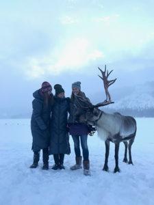 Sissi och Malin från SKHOOP, och så Ullis och Rudolf förstås!